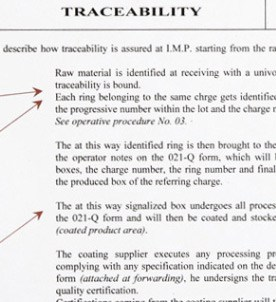 Traceability Procedure